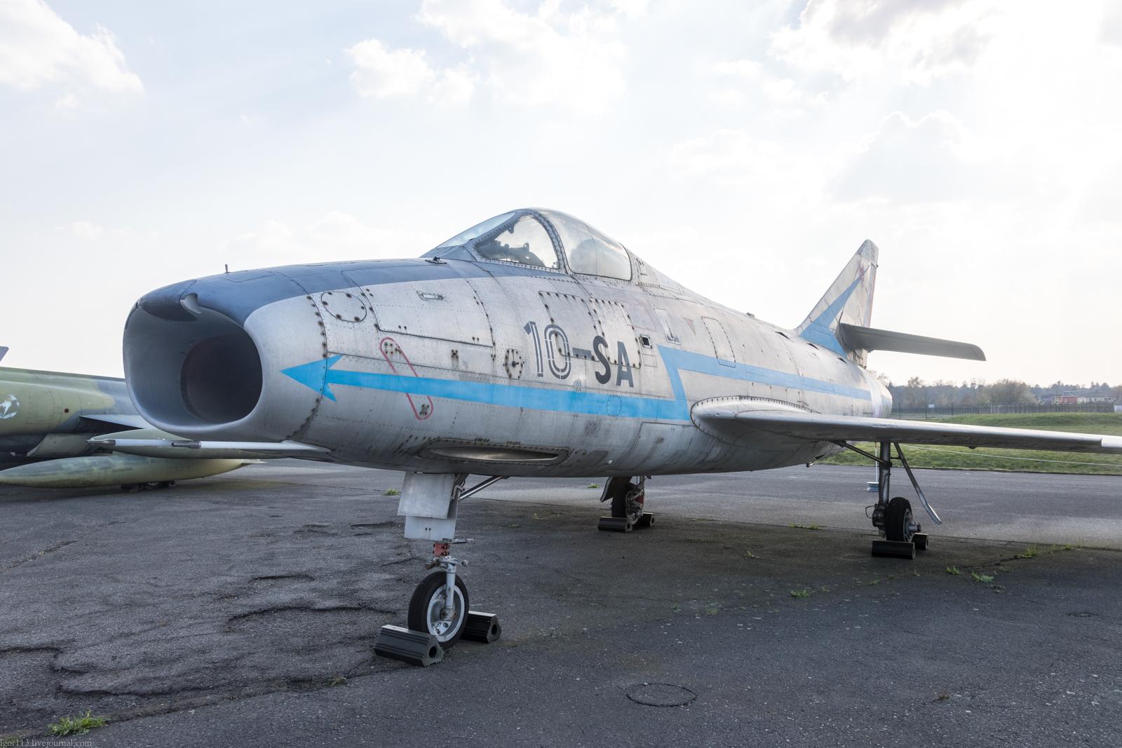 Музей люфтваффе в Берлине дальняя площадка: истребитель-перехватчик Dassault