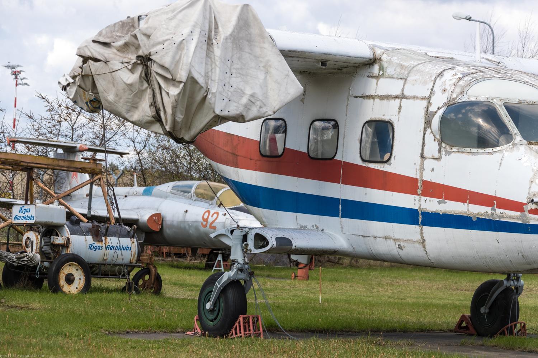Авиамузей в Риге: легкий многоцелевой транспортный самолет Ан-14А