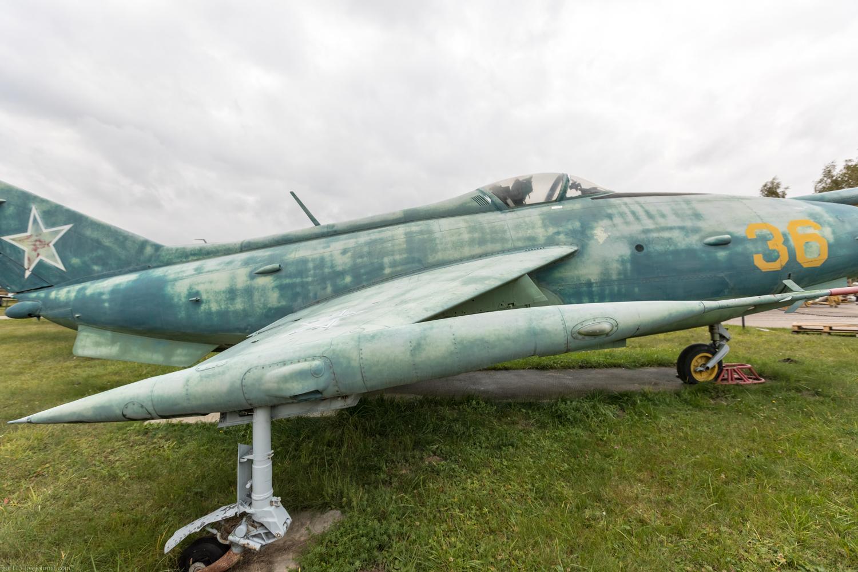 Центральный музей Военно-воздушных сил РФ 2018: экспериментальный самолет