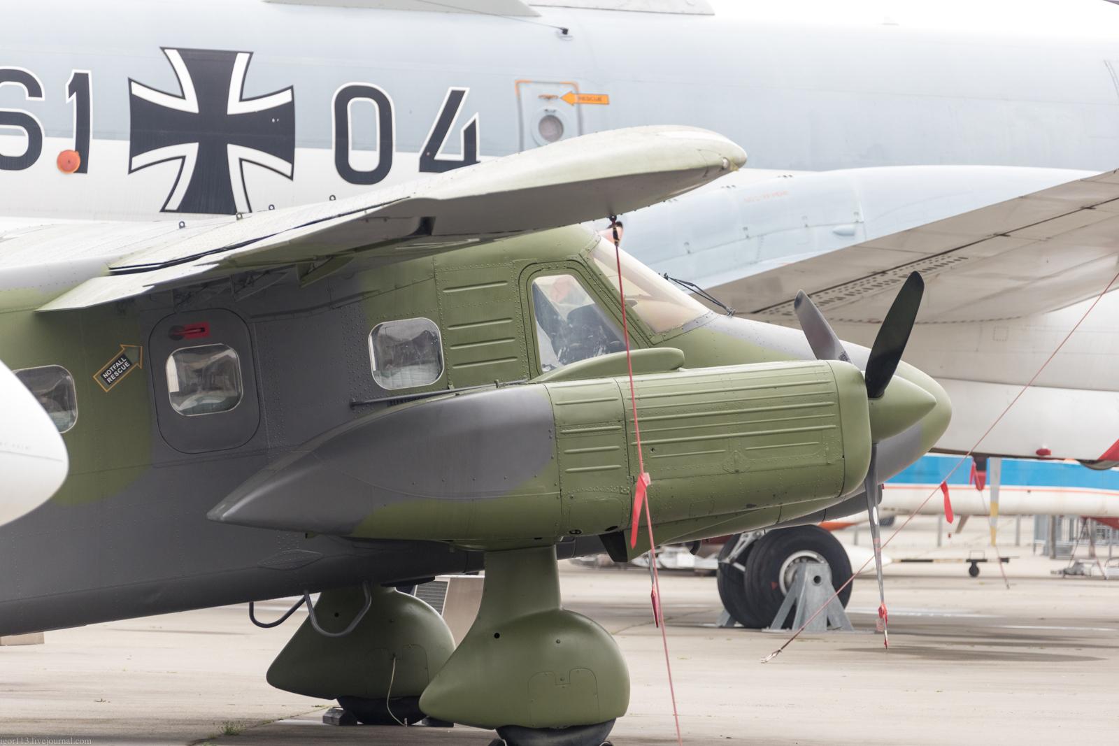 Музей Дорнье: легкий многоцелевой самолет Do-28D Skyservant.
