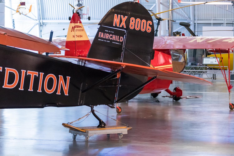 Steven f udvar-hazy center: самолет для экспедиции в Антарктиду Fairchild