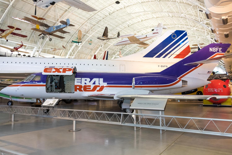 Steven f udvar-hazy center, 2018 год: самолет для FedEx