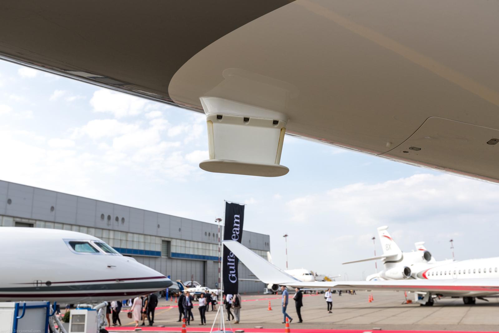 Rubae-2019: сверхдальнемагистральный самолет Gulfstream G600(GVII).