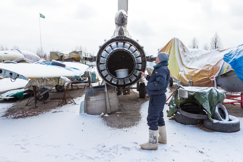 Шашлык на аэродроме Орешково 13 января 2018 года ч1.