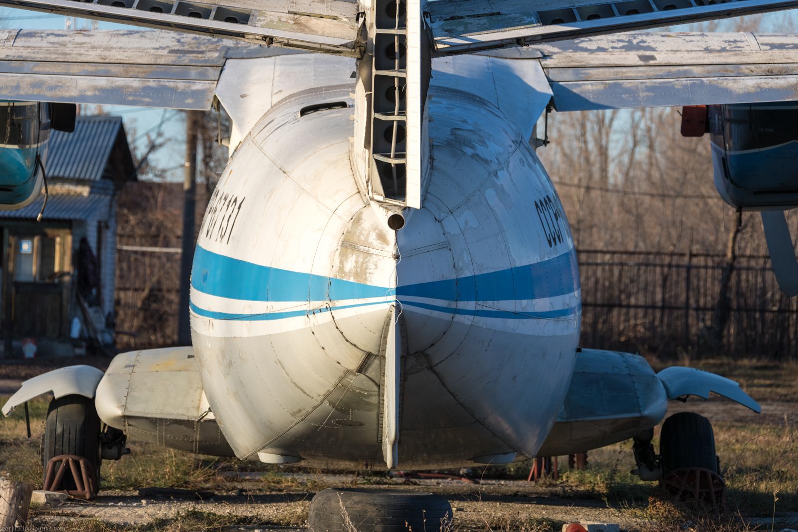 Учебный аэродром Самарского университета: самолёт для местных воздушных линий