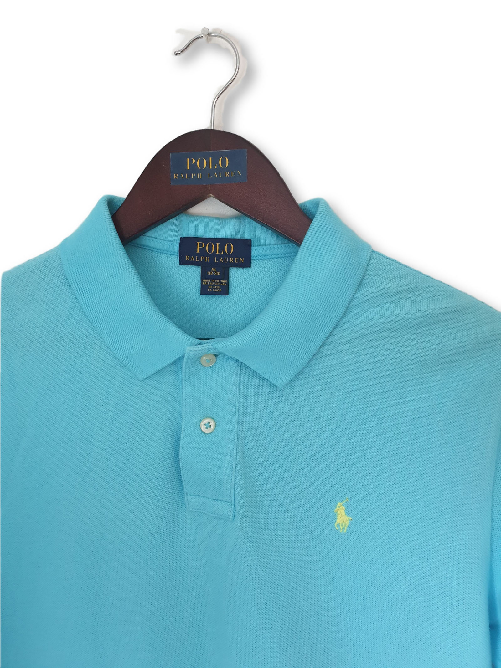 Age Vibrant Blue About Youth Polo Lauren 20 Modern Ralph Label Details 18 Xlvgc XZPkiu
