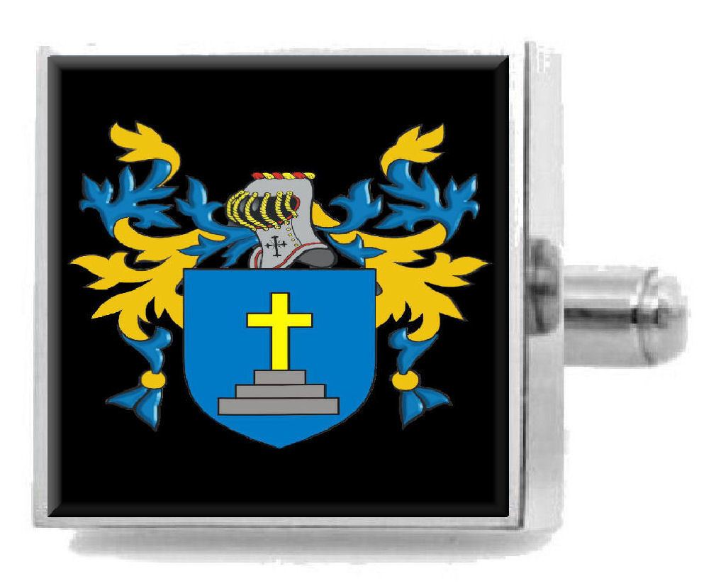 Scotland Heraldry Crest Heraldry Cufflinks Box Set Engraved Select Gifts Mcewen 2